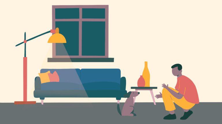 hoe hond zindelijk maken op appartement